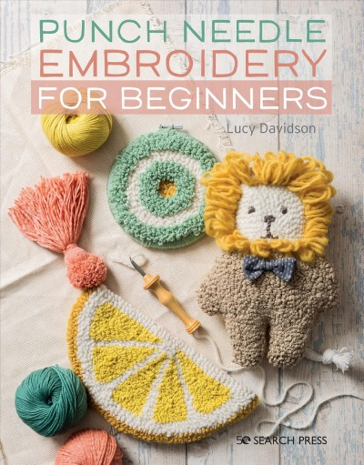 Punch Needle Embroidery for Beginners cover